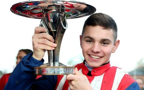 <span>Ben Jones is another Welsh accent in the jockey's room</span> <span>Credit: PA </span>