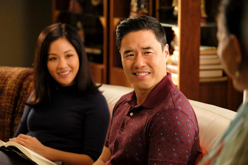 """Constance Wu and Randall Park in """"Fresh Off the Boat."""" (Photo: Jessica Brooks via Getty Images)"""
