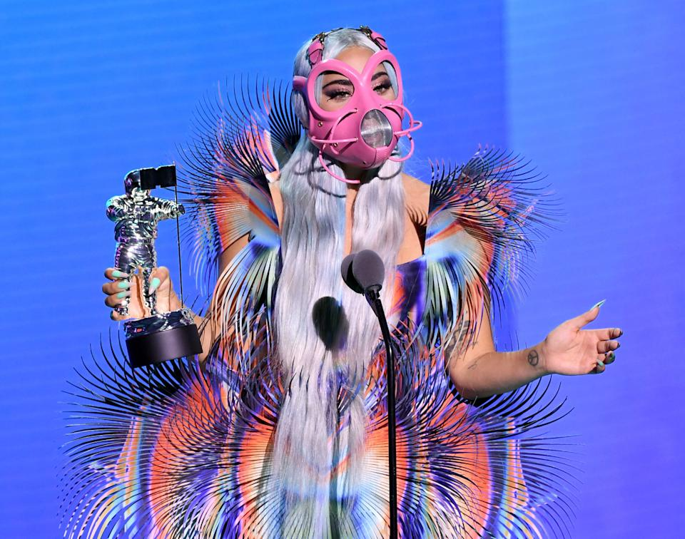 (Photo by Kevin Winter/MTV VMAs 2020/Getty Images for MTV)