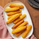 """<p>Cornbread is a Thanksgiving dinner essential, and this recipe offers a cheesy spin on a classic.</p><p><strong><em><a href=""""https://www.womansday.com/food-recipes/food-drinks/a29478085/cheese-and-pepper-cornbread-recipe/"""" rel=""""nofollow noopener"""" target=""""_blank"""" data-ylk=""""slk:Get the recipe for Cheese and Pepper Cornbread."""" class=""""link rapid-noclick-resp"""">Get the recipe for Cheese and Pepper Cornbread.</a></em></strong></p>"""
