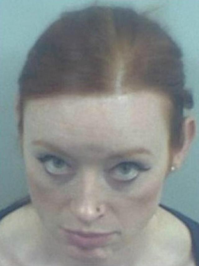 Deirdre McTucker, from Dublin in Ireland, grabbed a woman by the hair and punched her repeatedly (Picture: SWNS)