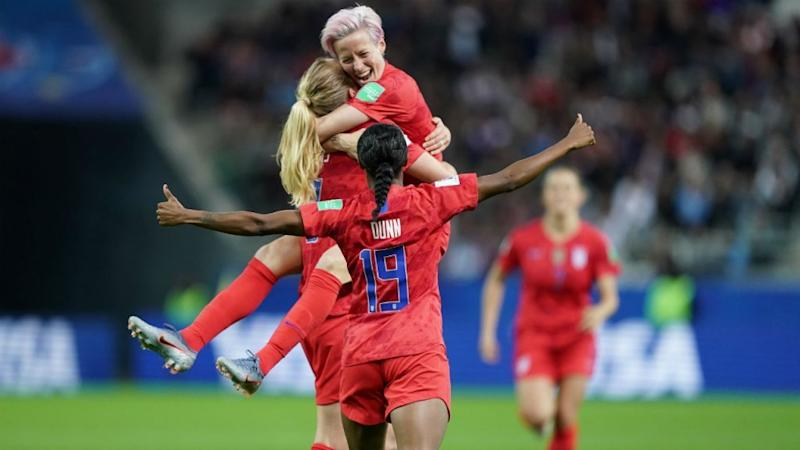 US women's football team breaks scoring record with 13-0 win over Thailand
