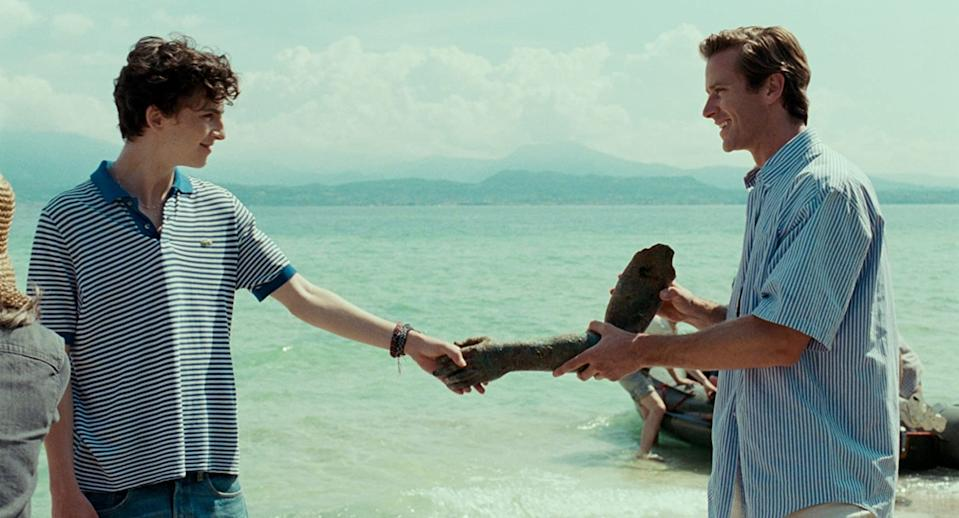 Timothee Chalamet and Armie Hammer would return for the Call Me By Your Name sequel. (Image by Sony Pictures Classic)