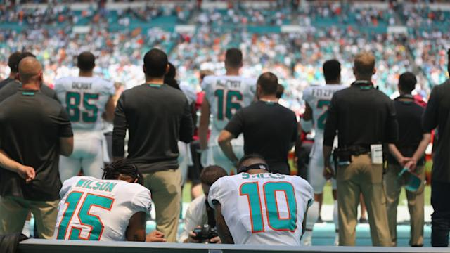 NFL only has handful of anthem protests during Week 1