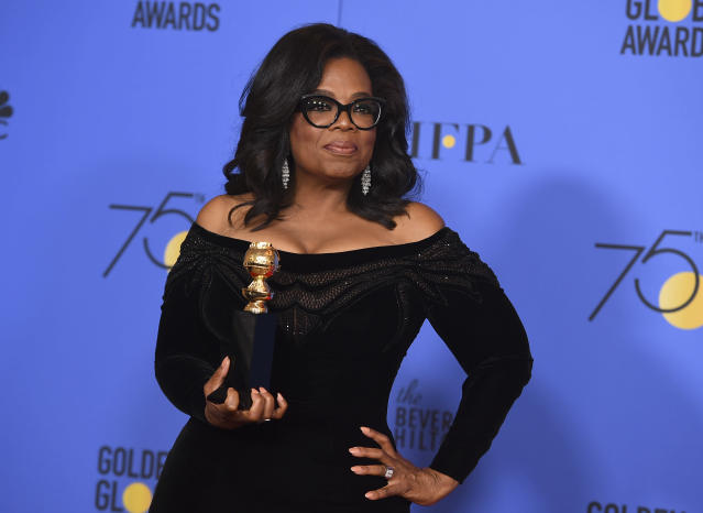 Oprah Winfrey (Photo: Jordan Strauss/Invision/AP)