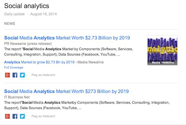 Social Analytics is Worth $2.73 Billion by 2019? image dyu 2019 billions