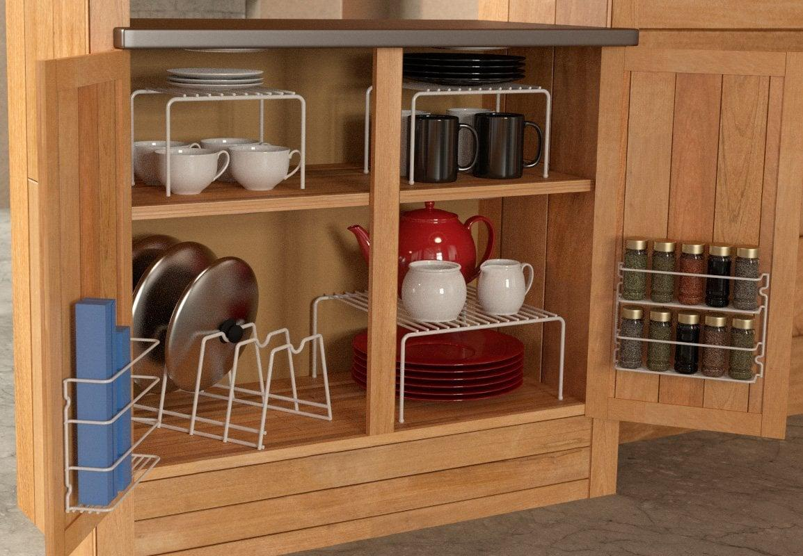 """<p>Get your kitchen organized with this <a href=""""https://www.popsugar.com/buy/Grayline-6-Piece-Cabinet-Organizer-Set-403609?p_name=Grayline%206-Piece%20Cabinet%20Organizer%20Set&retailer=amazon.com&pid=403609&price=25&evar1=casa%3Aus&evar9=46363853&evar98=https%3A%2F%2Fwww.popsugar.com%2Fhome%2Fphoto-gallery%2F46363853%2Fimage%2F46363977%2FGrayline-6-Piece-Cabinet-Organizer-Set&list1=shopping%2Corganization%2Cproducts%20under%20%2425%2Chome%20organization%2Chome%20shopping&prop13=mobile&pdata=1"""" rel=""""nofollow"""" data-shoppable-link=""""1"""" target=""""_blank"""" class=""""ga-track"""" data-ga-category=""""Related"""" data-ga-label=""""https://www.amazon.com/Grayline-457101-Piece-Cabinet-organizer/dp/B000LNV4ZG/ref=sr_1_30_a_it?ie=UTF8&amp;qid=1546902120&amp;sr=8-30&amp;keywords=home+organizers"""" data-ga-action=""""In-Line Links"""">Grayline 6-Piece Cabinet Organizer Set</a> ($25).</p>"""