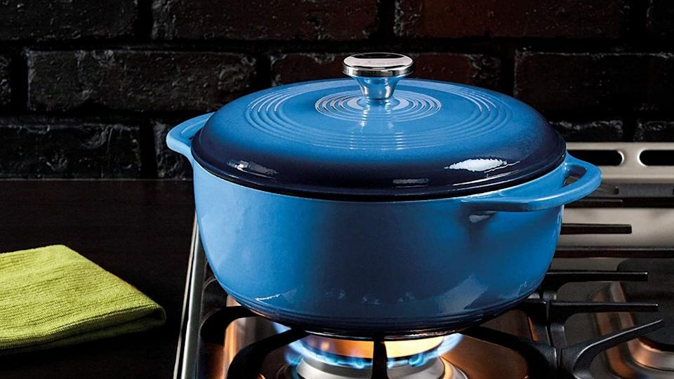 This Lodge Dutch oven is one of our favorite Amazon Prime Day 2021 deals