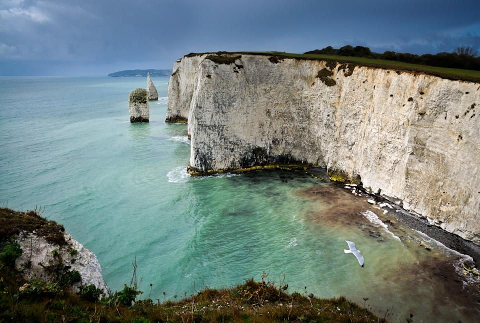 This National Trust protected beach is home to the famous Old Harry Rocks, a group of towering chalk formations at Handfast Point. Walkers will love the Jurassic Coast world heritage site, while those looking for a more restful visit can enjoy the bathing waters at South Beach. Alternatively, there's a one kilometre designated naturist area at the nearby Knoll Beach, should that take your fancy. [Photo: Getty]