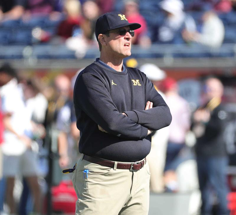 Michigan football's Jim Harbaugh enters 2020 season with contract uncertainty