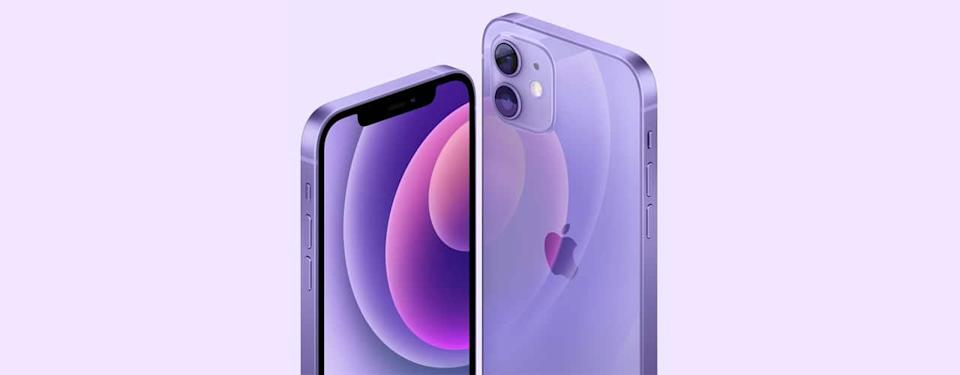 apple iphone iphone mini 2021 purple new color
