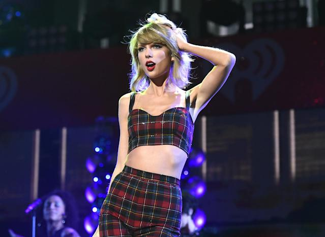 Taylor Swift performs at Madison Square Garden in December 2014. (Photo: Jamie McCarthy/Getty Images for iHeartMedia)
