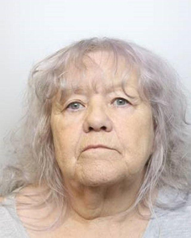 Christina Pomfrey, 65, has been jailed (Picture: PA)