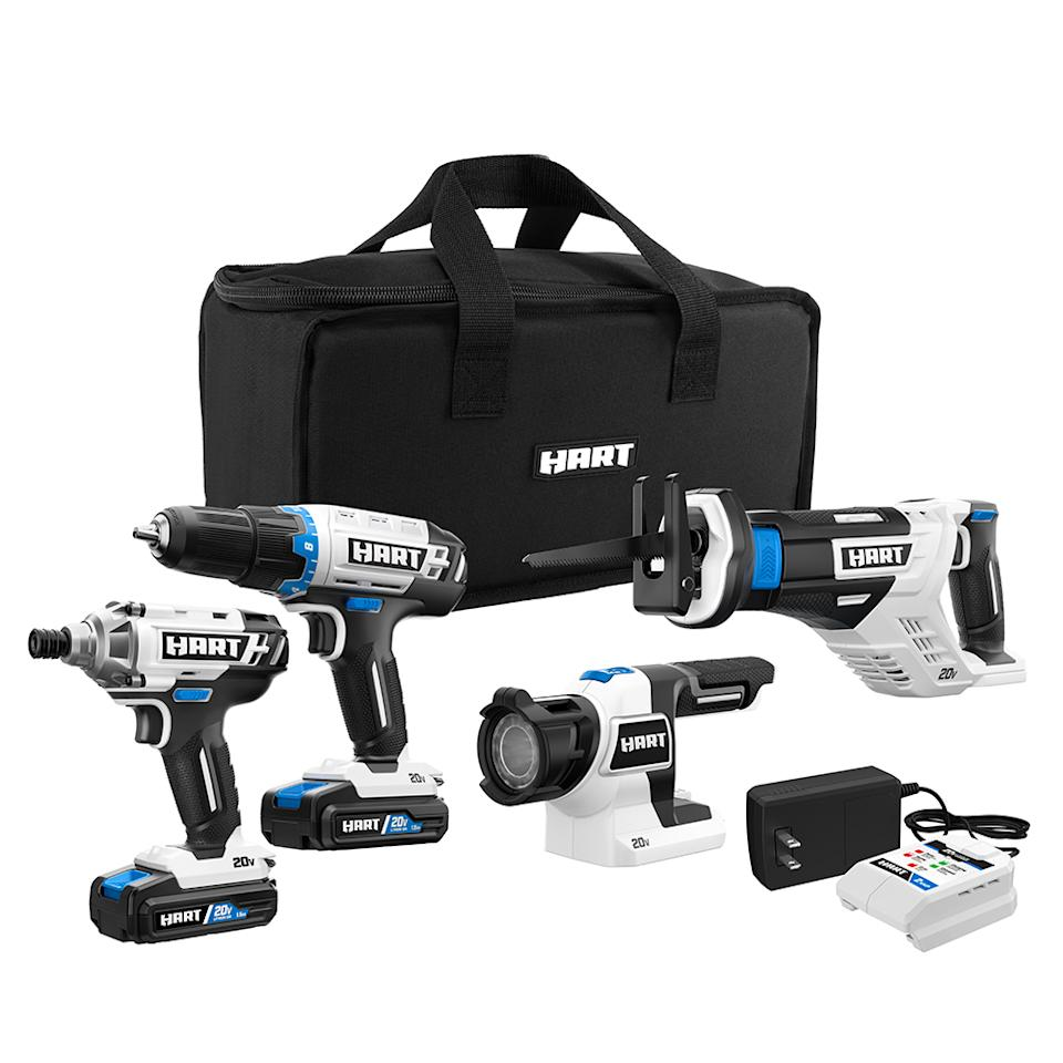 A power-tool starter set, at a phenomenal price. (Photo: Walmart)