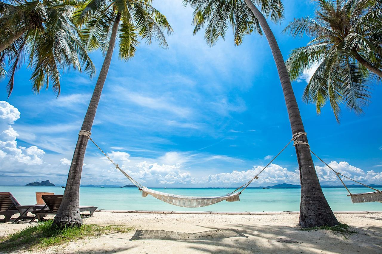 "<p><span>If you've got a decent budget, whisk the family off to Thailand for Easter, where </span><a rel=""nofollow"" href=""http://www.phiphiislandvillage.com/""><span>Phi Phi Island Village Beach Resort</span></a><span> has introduced new expeditions and group activities suitable for both adults and children. Kayak through the mangroves, sweat it out on a private beach boot camp or learn survival skills on the Young Survivor course, which teaches shelter building and mastering campfires. There are also junior cooking courses for budding chefs. Seven nights costs from £6,245 for a family of four, including return Heathrow flights on April 3. [Photo: Phi Phi Island Village Beach Resort]</span> </p>"
