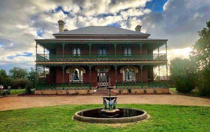 Lawrence grew up in Monte Cristo homestead, what he now calls 'Australia's most haunted home'. Photo: Facebook/ MonteCristoHomestead