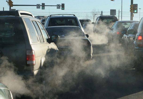 PHOTO: An undated photo showing exhaust from cars. (STOCK PHOTO/Getty Images)