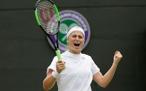 <span>Ostapenko has spent less time on court en route to the semi-finals</span> <span>Credit: AP </span>