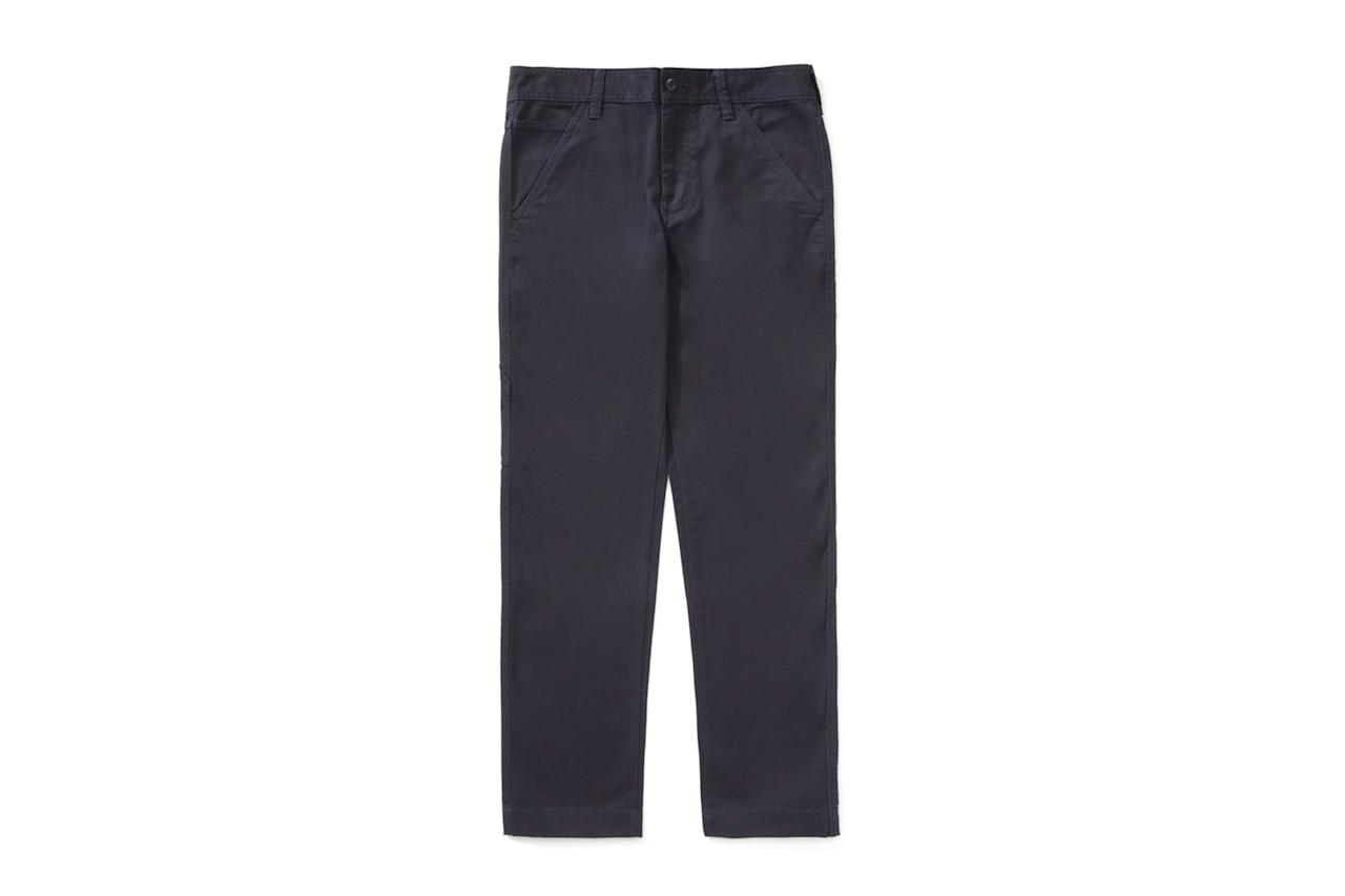 "$78, Everlane. <a href=""https://www.everlane.com/products/mens-carpenter-pant-darknavy"">Get it now!</a>"