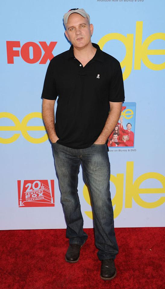 """Mike O'Malley arrives at the """"Glee"""" Premiere Screening And Reception at Paramount Studios on September 12, 2012 in Hollywood, California."""
