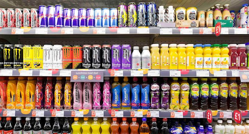 There is currently now proof of age required to purchase highly caffeinated drinks. Source: Getty