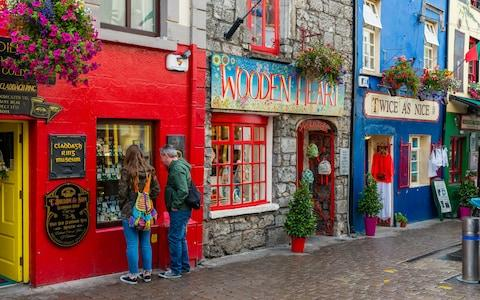Galway shopping street - Credit: iStock