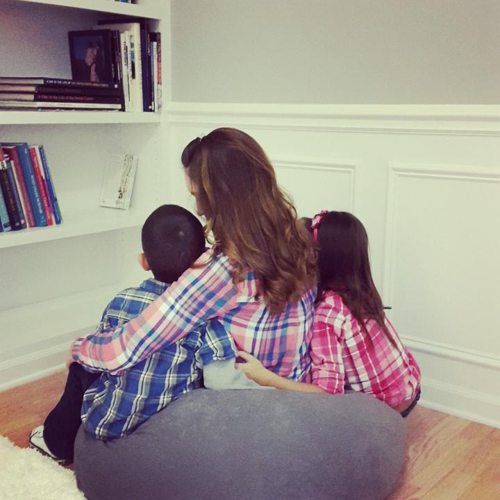 Eden Strong and her children.