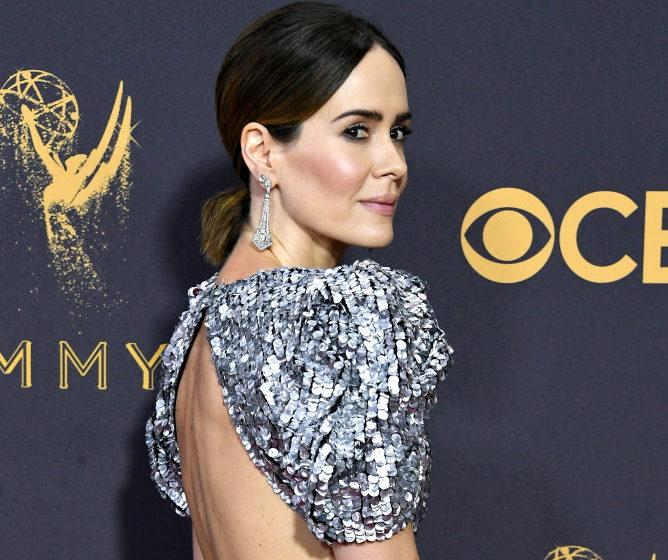 Sarah Paulson & Tracee Ellis Ross are #twinning in glam silver gowns ...