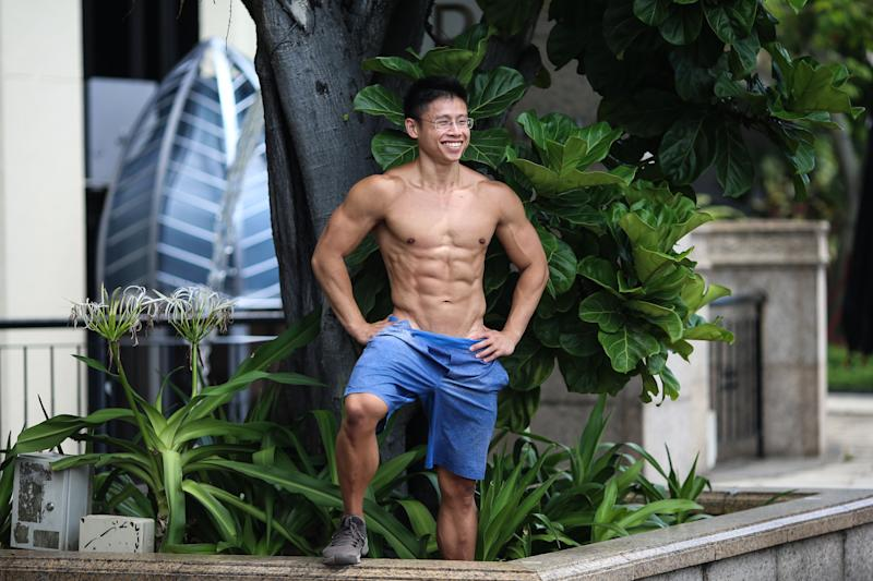 National CrossFit men's champion Ian Wee used to represent Singapore in international weightlifting competitions. (PHOTO: Cheryl Tay)