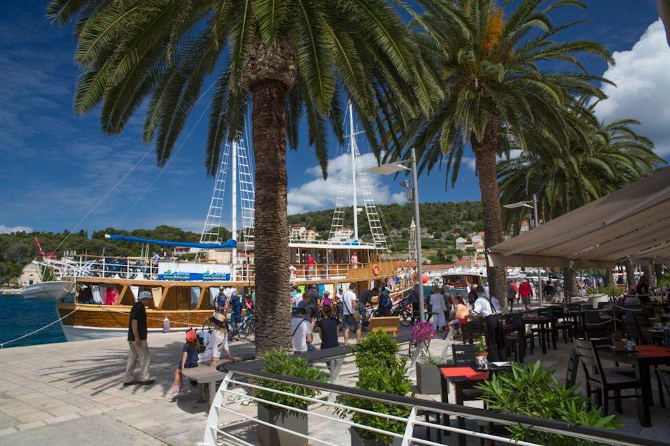 <p>This Croatian island is a popular summer resort with history. It has 13th-century walls, a fortress, and a main square that boasts the Hvar Cathedral. It also has beautiful beaches on the coast and lavender fields when you travel inland.</p>