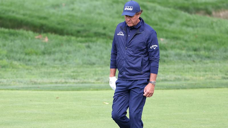 Phil Mickelson's wild U.S. Open ride comes to somber, quiet conclusion