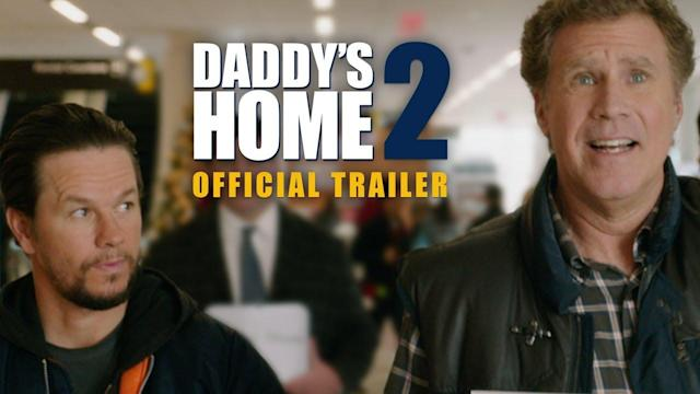 'Daddy's Home 2' Trailer: Will Ferrell and Mark Wahlberg Reunite With Their Own Fathers, Mel Gibson and John Lithgow