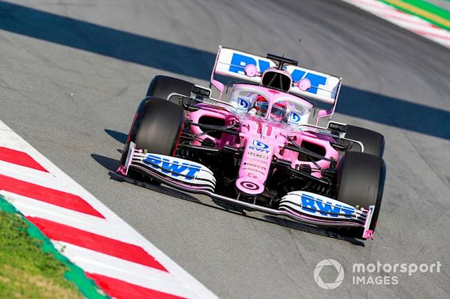 """Sergio Perez, Racing Point RP20 <span class=""""copyright"""">Steven Tee / Motorsport Images</span>"""