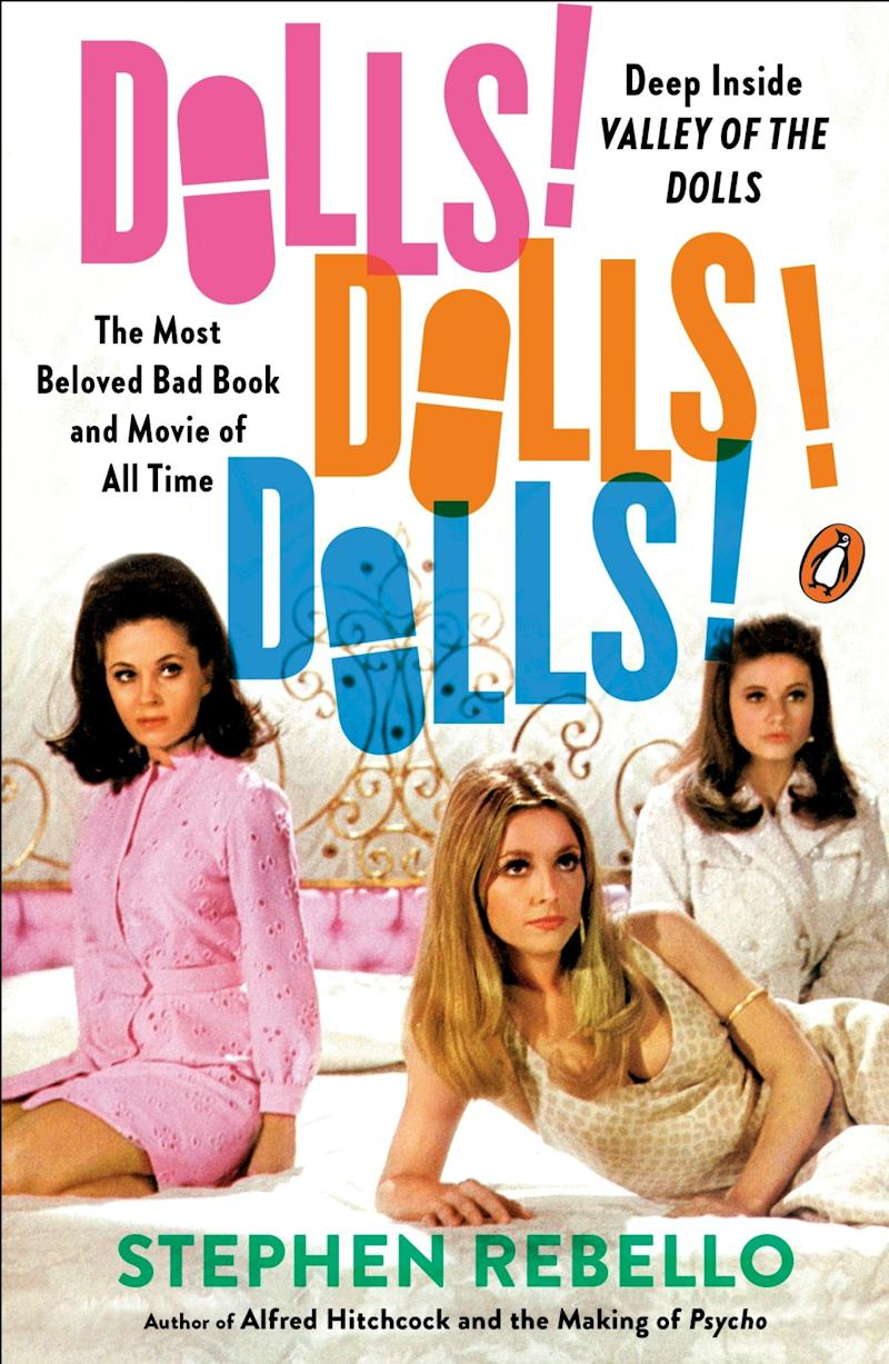 "A book cover for ""Dolls! Dolls! Dolls!,"" by Stephen Rebello. Credit: Penguin Books"
