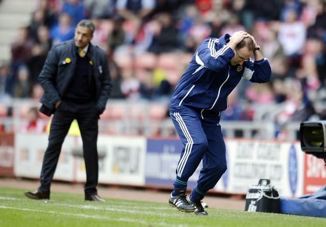 O'Neill was unable to find the winning formula at the Stadium of Light