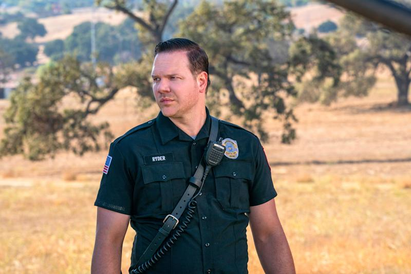 Jim Parrack plays a firefighter dealing with the aftermath of an explosion that claimed the lives of his colleagues in the Fox spinoff, '9-1-1: Lone Star.'