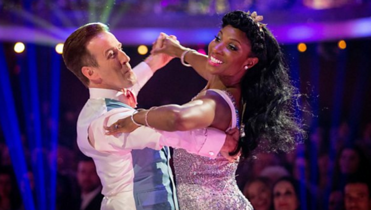 Denise and Anton's sparkling Viennese Waltz on Strictly Come Dancing