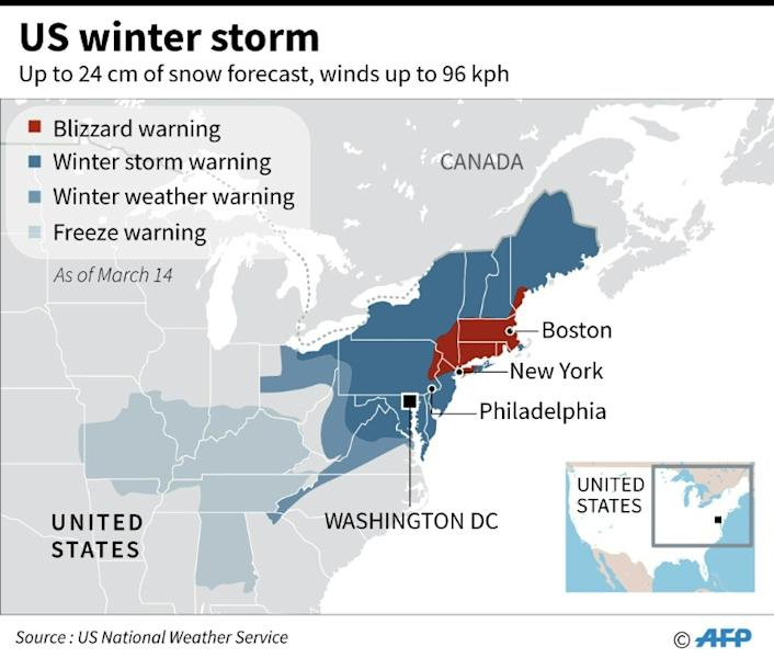 US winter storm