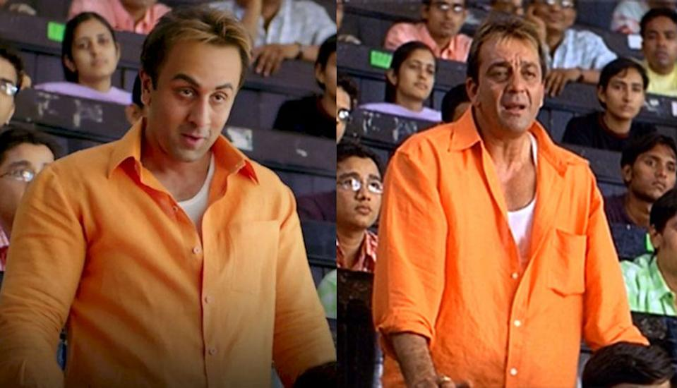 Ranbir Singh lived the controversial life of actor Sanjay Dutt; is film career, jail sentence and personal life, in the movie 'Sanju'. Ranbir left no stone unturned to get into the skin of his character as the actor Underwent multiple training sessions and also visited Sanjay Dutt's house to observe his clothes and shoes.