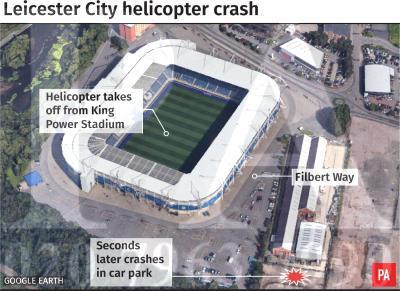 Leicester helicopter crash: How the tragedy played out