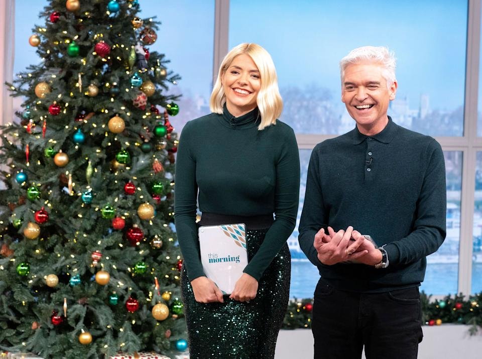 Holly Willoughby and Phillip Schofield will still present from Monday to Thursday (Photo: Ken McKay/ITV/Shutterstock)