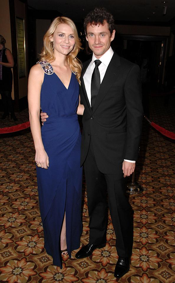 """<a href=""""http://movies.yahoo.com/movie/contributor/1800019605"""">Claire Danes</a> and <a href=""""http://movies.yahoo.com/movie/contributor/1800409403"""">Hugh Dancy</a> at the 61st Annual Directors Guild of America Awards in Los Angeles - 01/31/2009"""