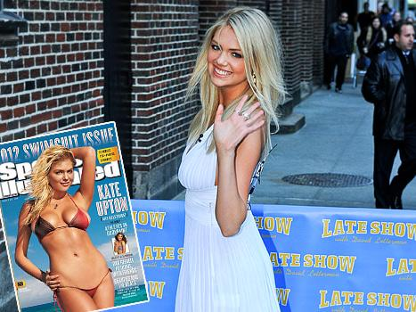 """Kate Upton Is """"Too Obvious"""" and """"Too Blonde"""" to Be in the Victoria's Secret Fashion Show"""