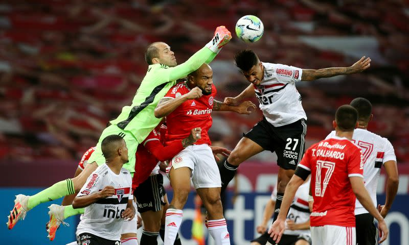 First-half goals lead to draw between Inter and Sao Paulo