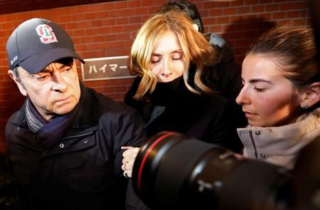 Former Nissan boss Ghosn's wife says he may not get fair trial in Japan: CNBC