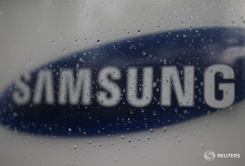 The logo of Samsung Electronic is seen at its headquarters in Seoul, South Korea, July 4, 2016. Picture taken on July 4, 2016. REUTERS/Kim Hong-Ji/File Photo