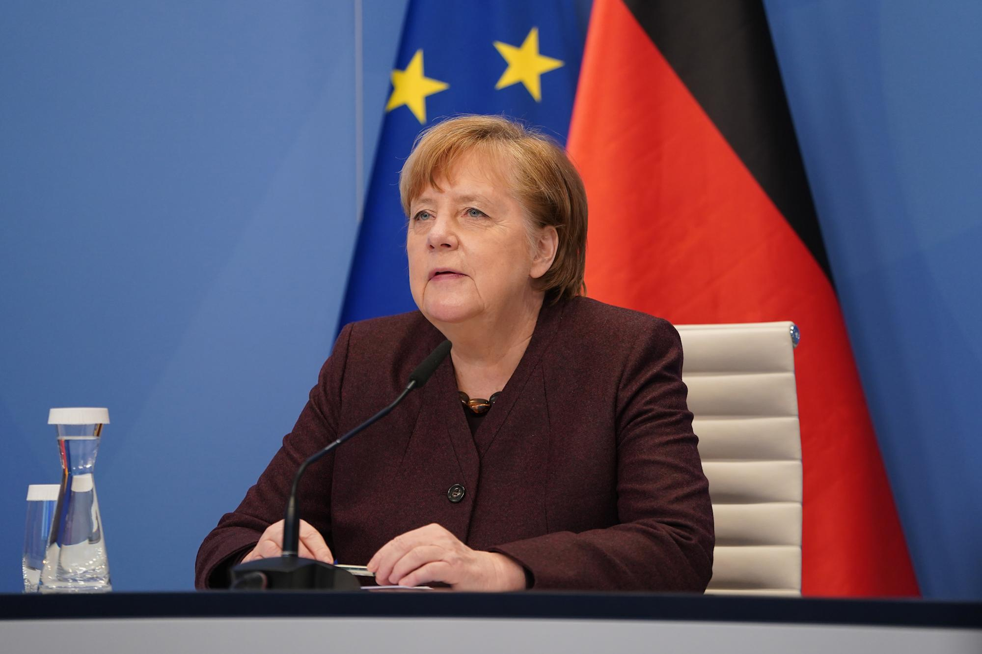 DAVOS 2021: Merkel criticises China's COVID 'transparency'