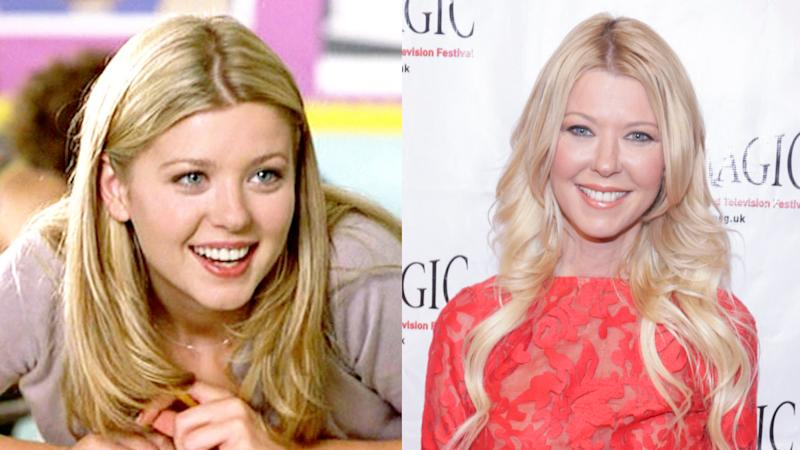 Tara Reid in 1999 and 2019. (Credit: Universal/Achim Harding/Getty Images)