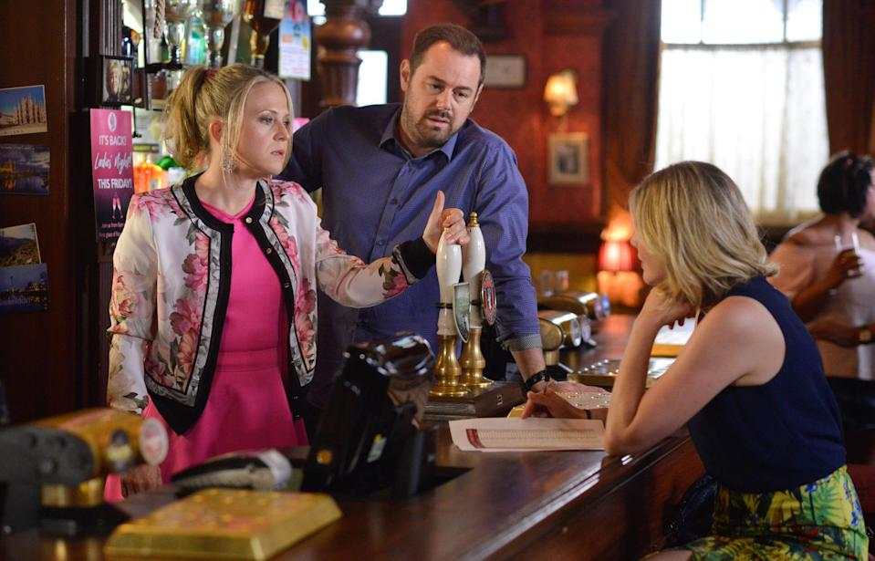 Danny plays Mick in the BBC soap. Copyright: [BBC]