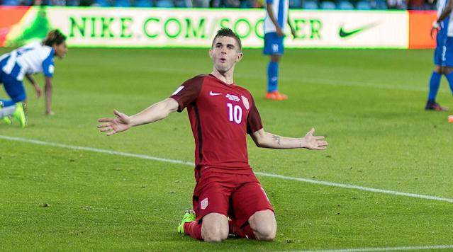 Everybody assumed that 18-year-old Christian Pulisic wouldn't be part of the U.
